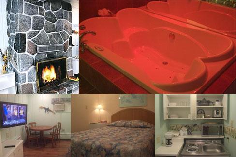 chambres confortables et tr s propres au motel tremblant. Black Bedroom Furniture Sets. Home Design Ideas