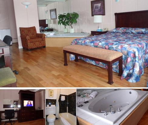 Chambres confortables et trs propres au motel tremblant mt for Chambre avec bain tourbillon montreal