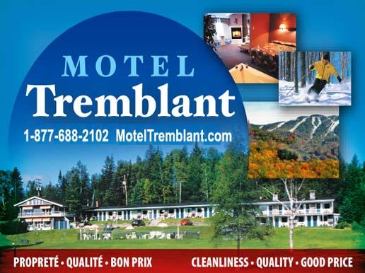official website motel tremblant 1 819 688 2102 2. Black Bedroom Furniture Sets. Home Design Ideas